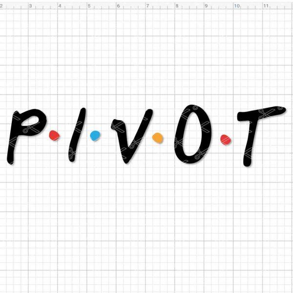Pivot SVG Cut File