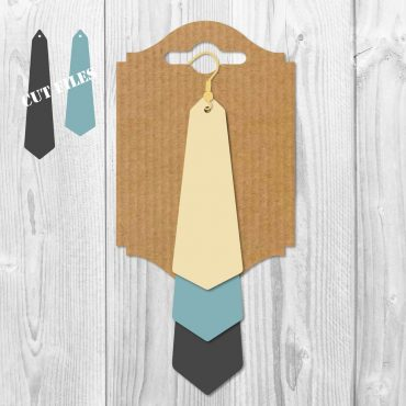 Triangle Stacked Earrings SVG
