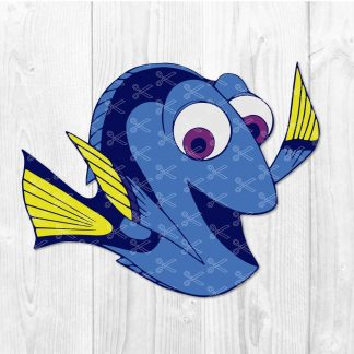 Dory SVG Cut File