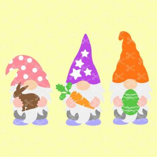 Easter Garden Gnomes SVG