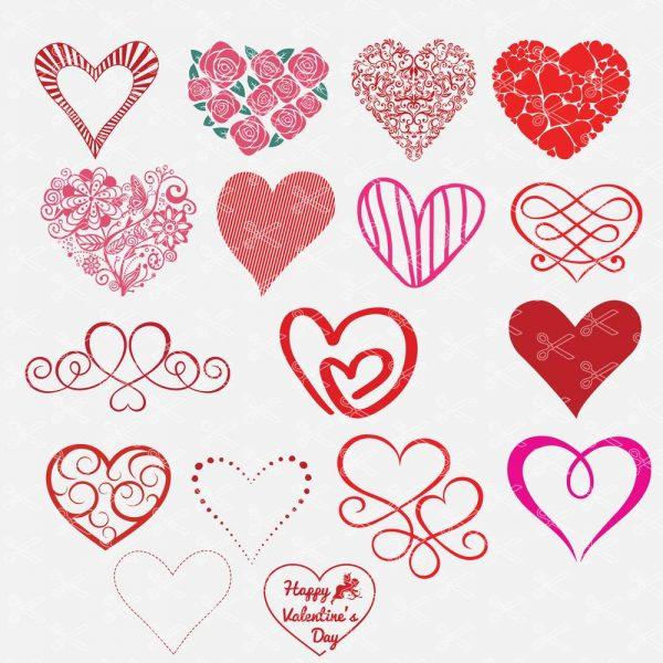 Hearts SVG