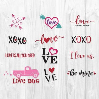 Valentine SVG Cut Files
