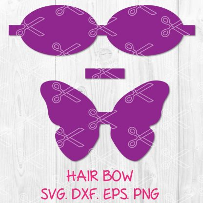 Butterfly Bow SVG