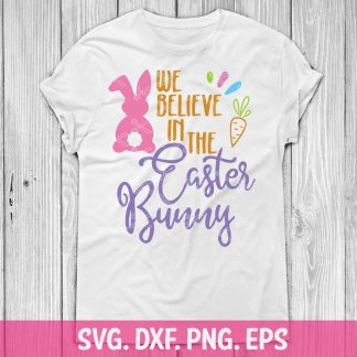 Easter Bunny SVG Cut File