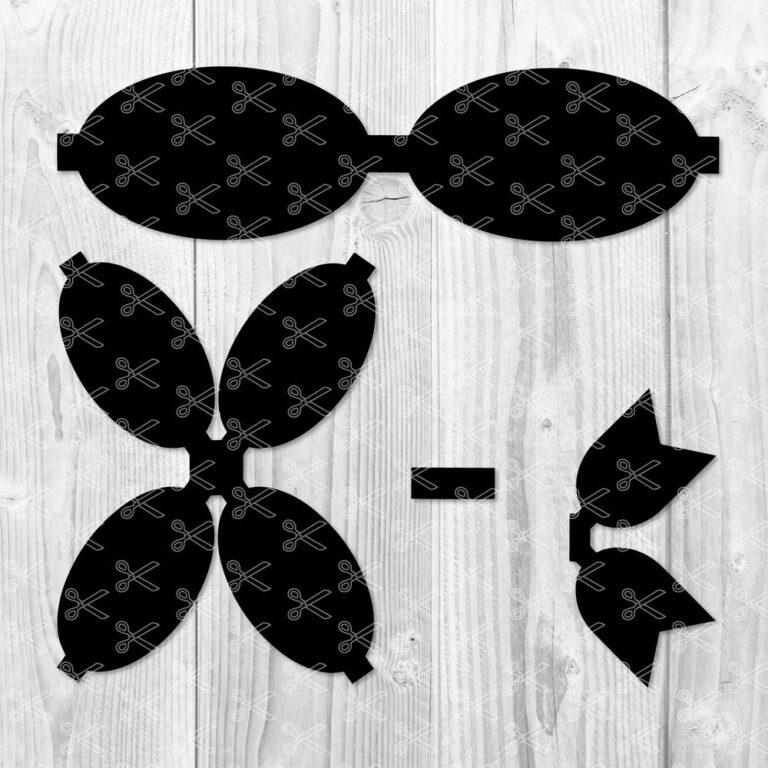 Harper Bow Template SVG