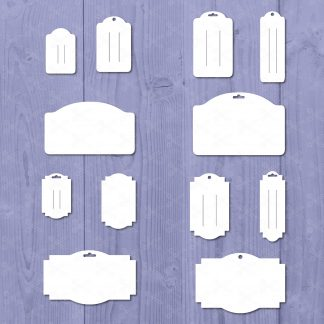 Hairbow Display Cards SVG