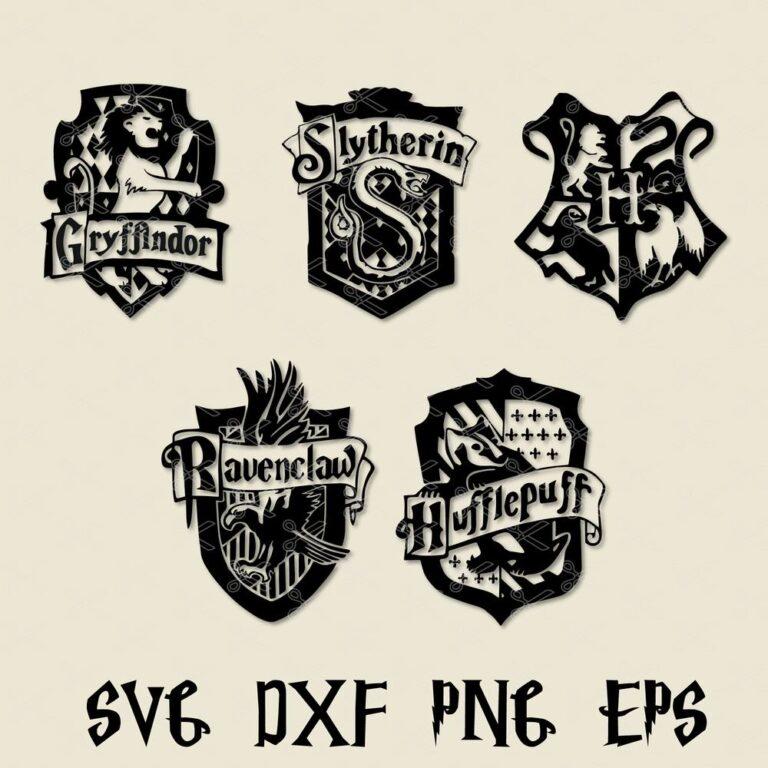 Harry Potter SVG Crests
