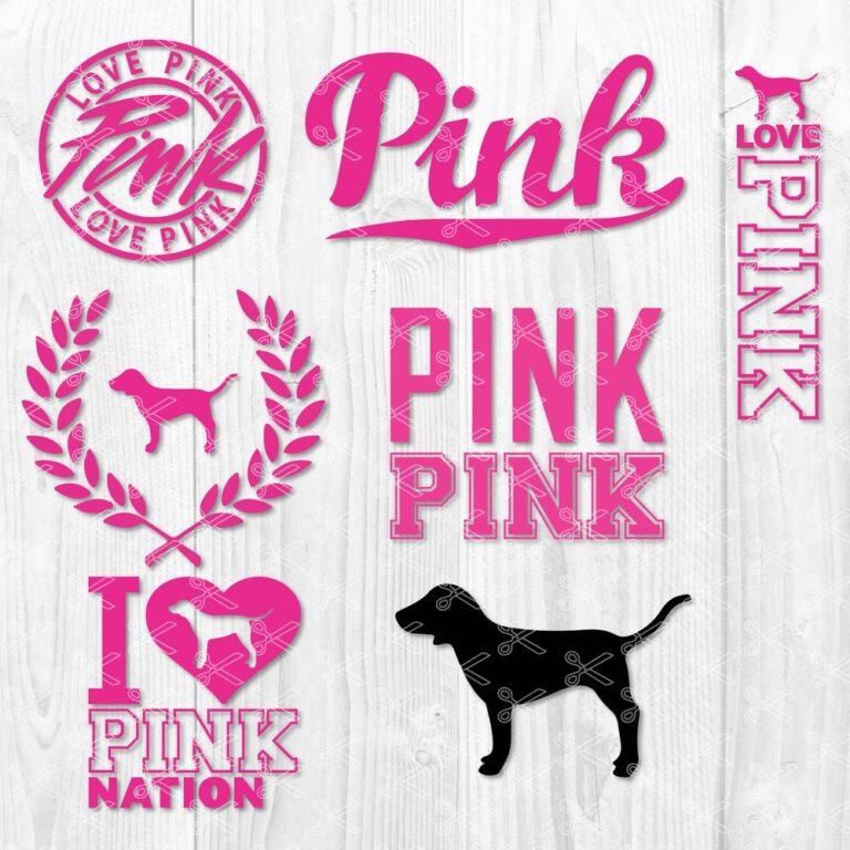 Love Pink SVG