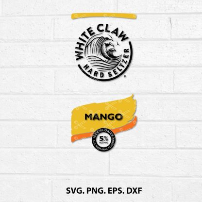 White Mango Hard Seltzer SVG