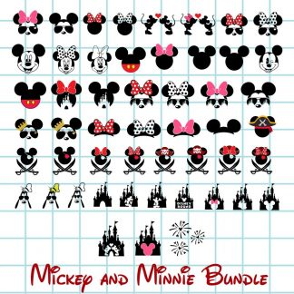 Mickey Mouse SVG Bundle