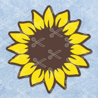 Sunflower SVG Cutting File