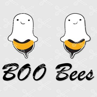 Boo Bees SVG