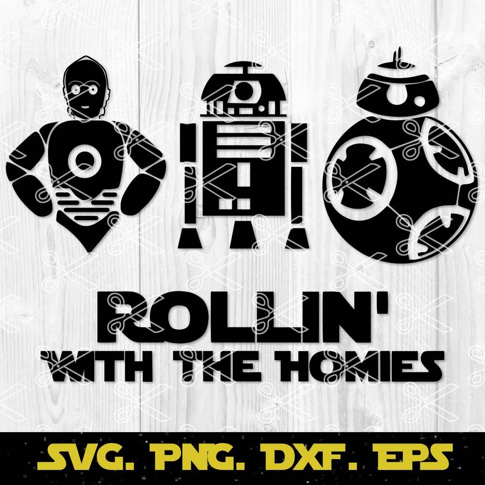 Star Wars Bundle Svg Eps Dxf Png Darth Vader Svg Cut File