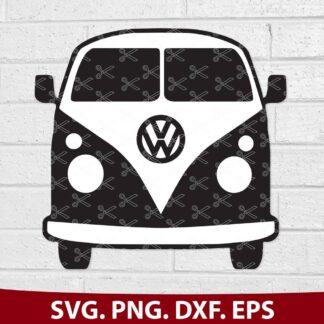 VW BUS T1 SVG