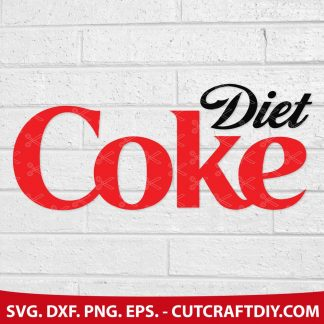 DIET COKE AND COKE ZERO SVG