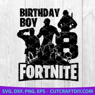 Fortnite Birthday Clipart