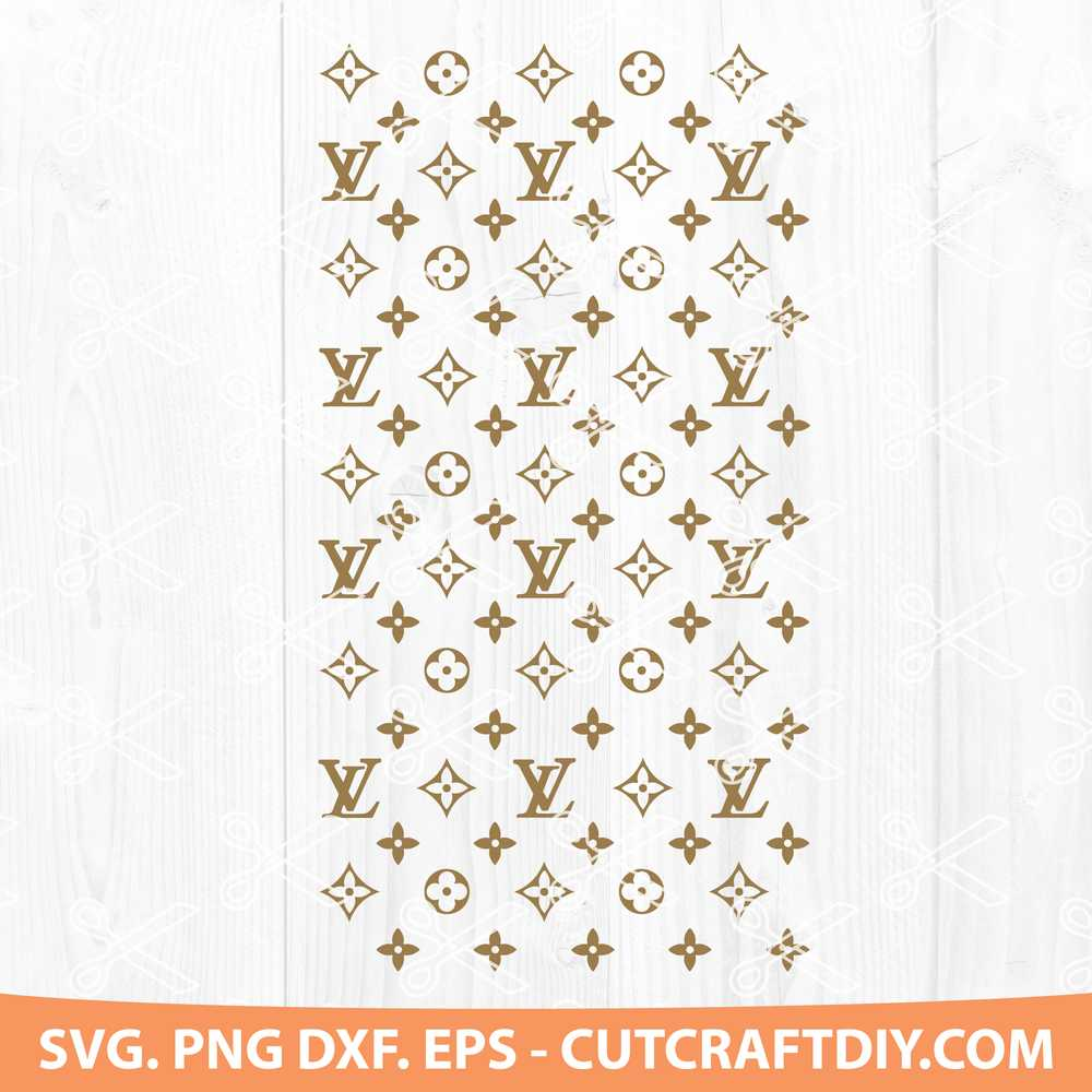 Louis Vuitton Logo Svg Dxf Eps Png Cut Files