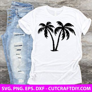 Palm Trees SVG Cut File