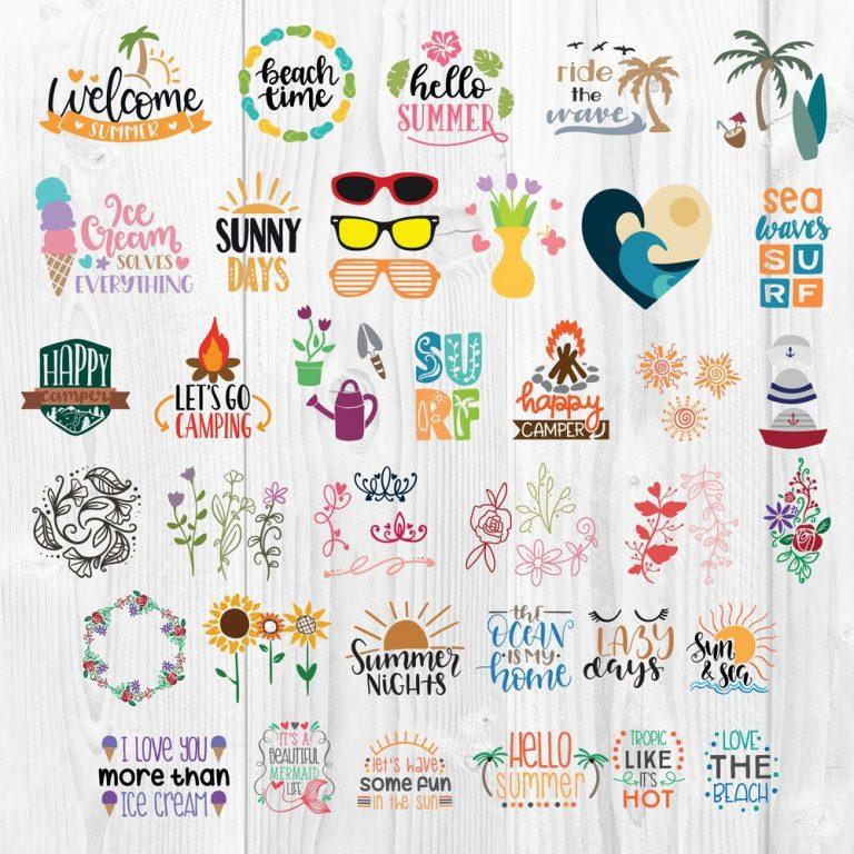 Summer Bundle SVG 3