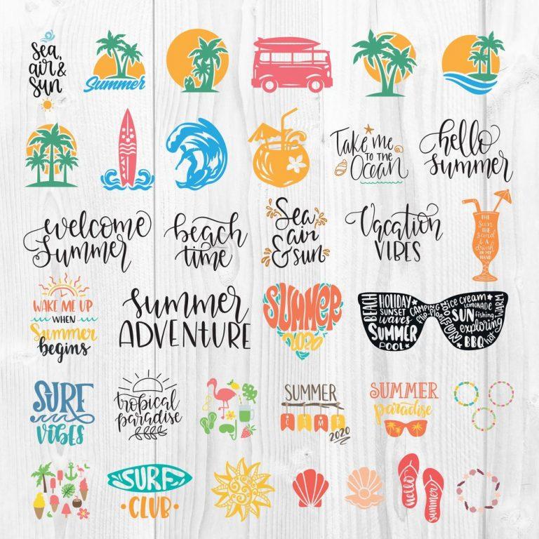 Summer SVG 2