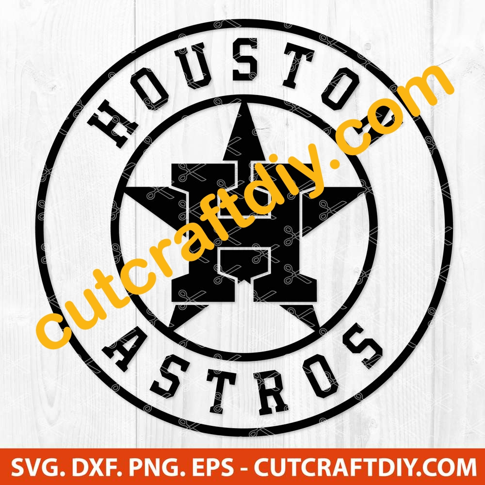 Houston Astros Svg Dxf Png Eps Cut Files Baseball Svg