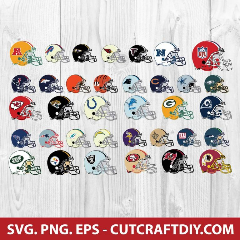 NFL Helmet SVG