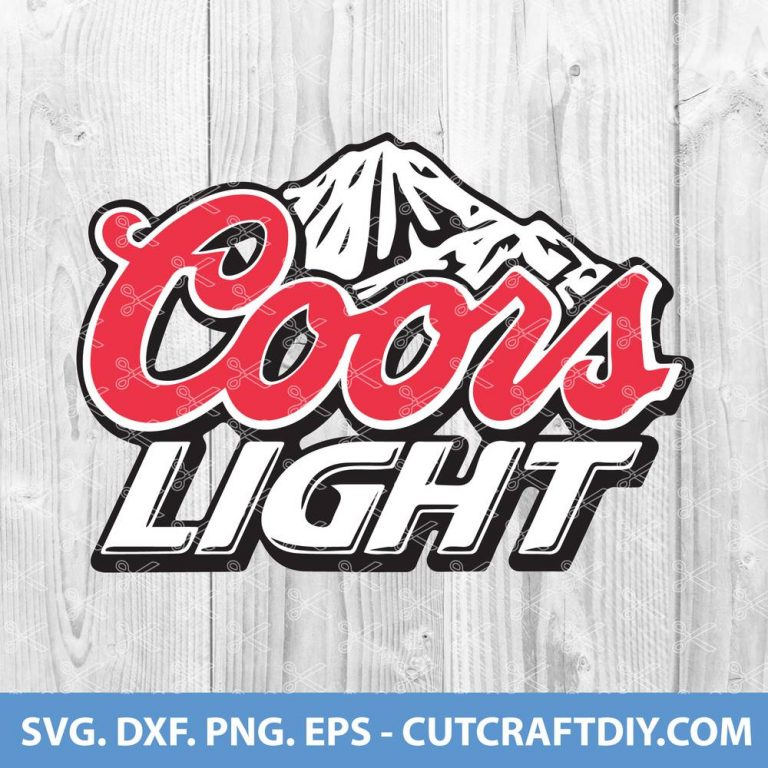 Coors Light Beer SVG