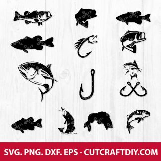 Fish SVG Cut File