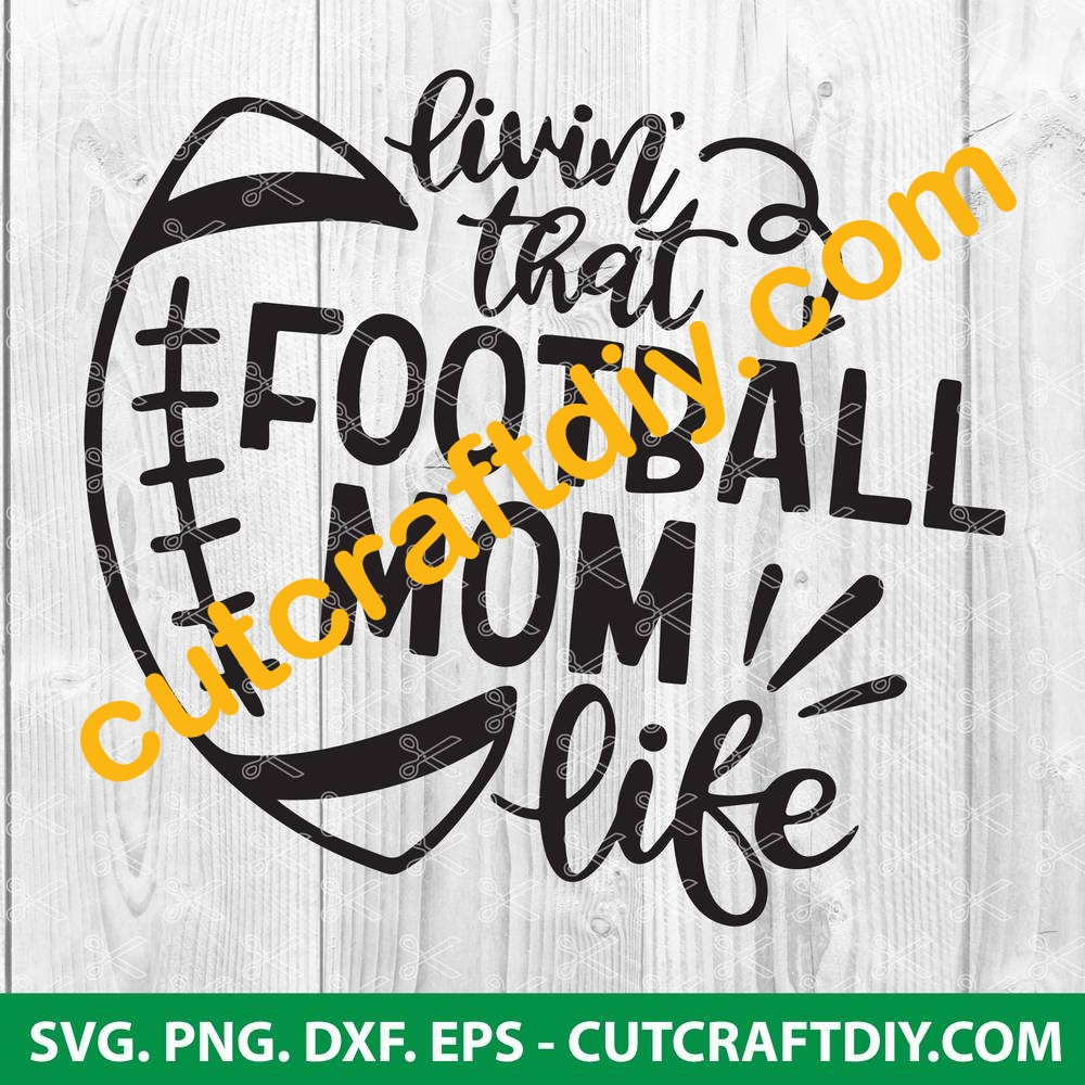 View Football Designs And Monograms – Svg, Dxf, Eps Cutting Files Crafter Files
