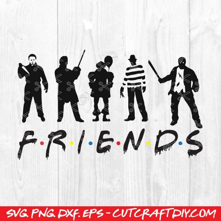 Halloween Friends SVG Cut File