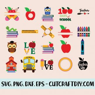 School Bundle SVG