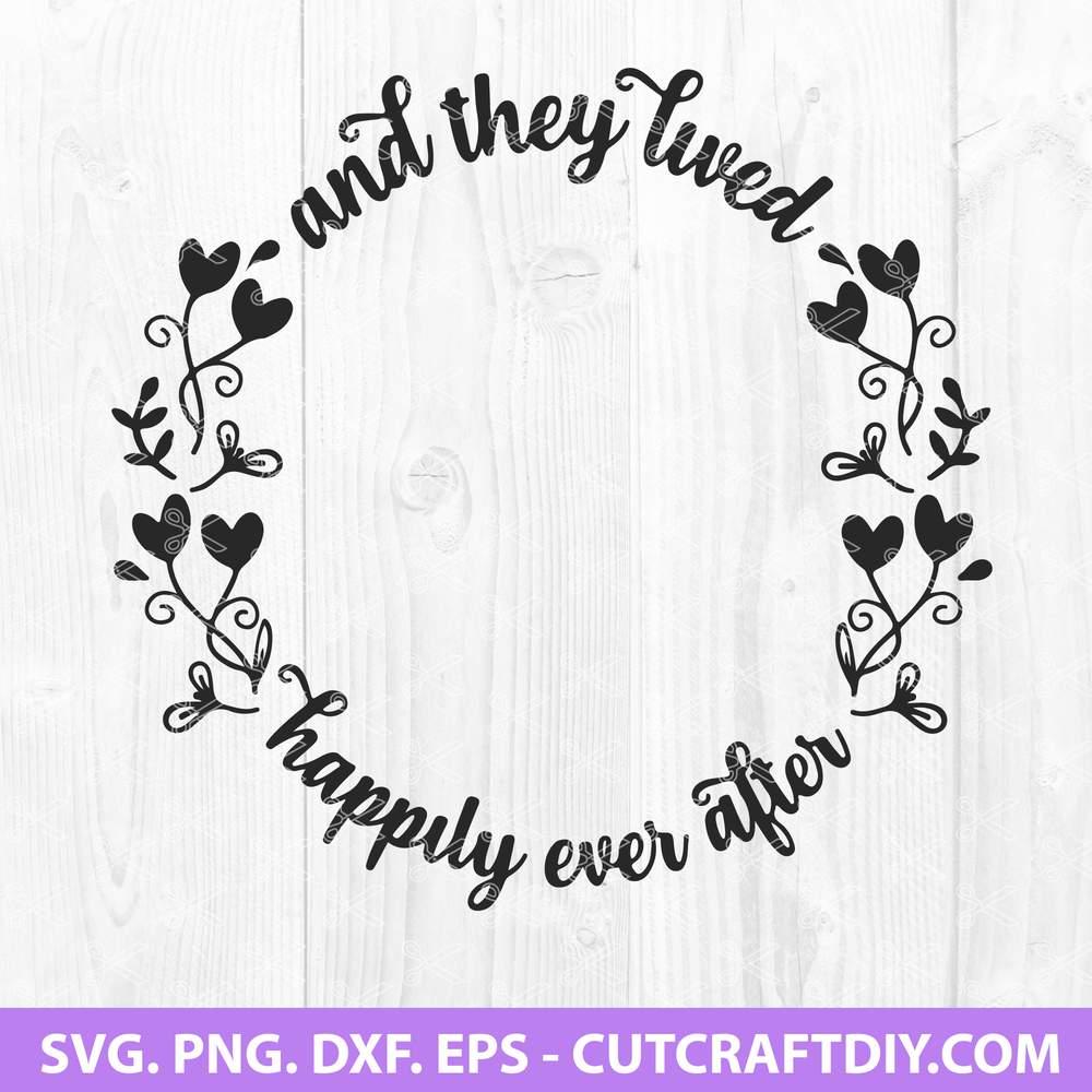 Wedding Monogram Svg Png Dxf Eps Cut File Wedding Quote Svg