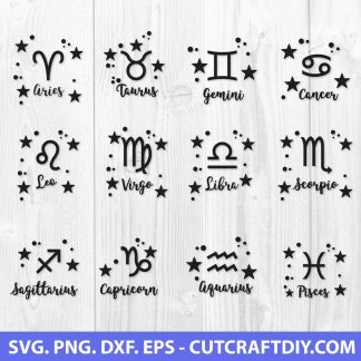 Zodiac Sign SVG