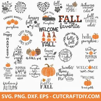 Autumn SVG Bundle