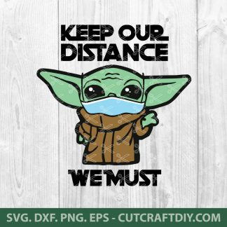 Baby Yoda Star Wars SVG