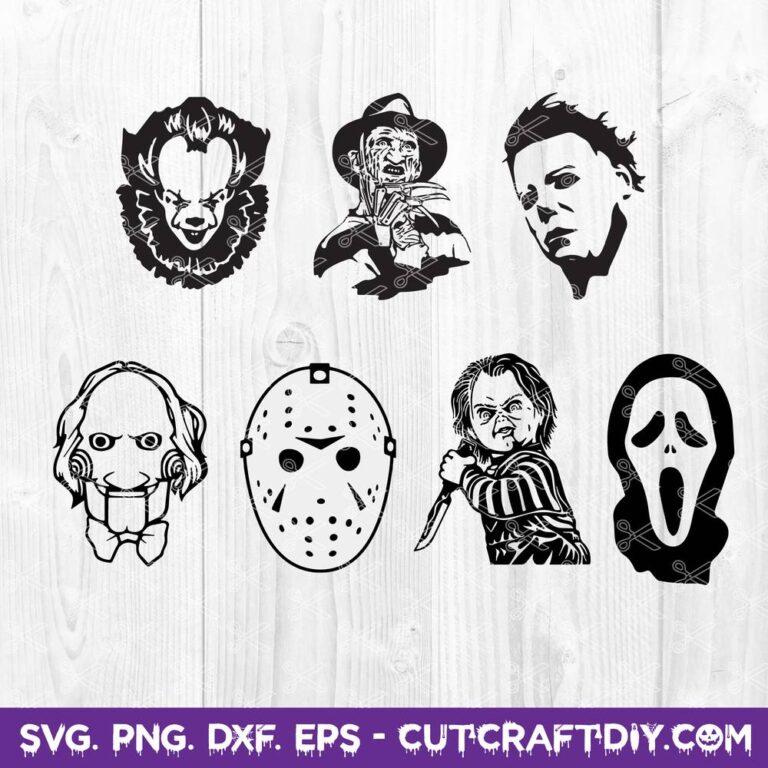 Horror Movie Killers SVG