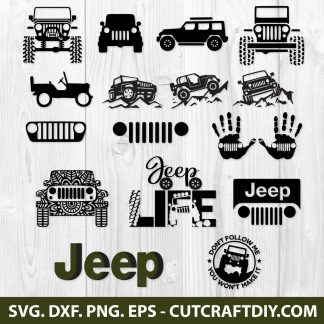 Jeep SVG Bundle