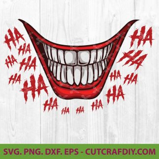 Joker Smile SVG