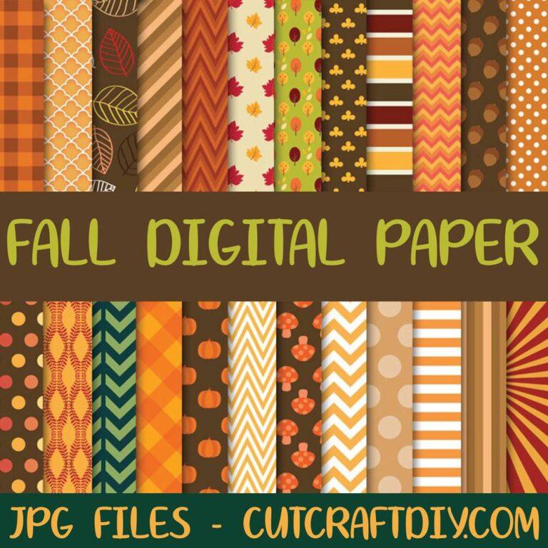 Digital Paper Fall