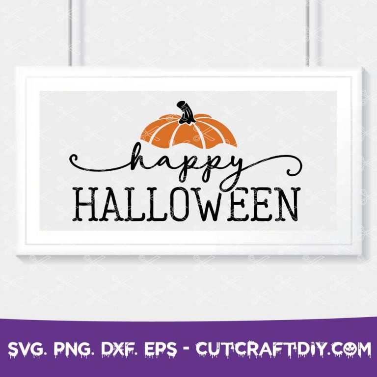 Happy Halloween SVG Cut File