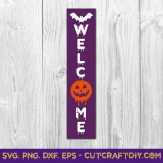 Halloween Porch Sign SVG Cut File
