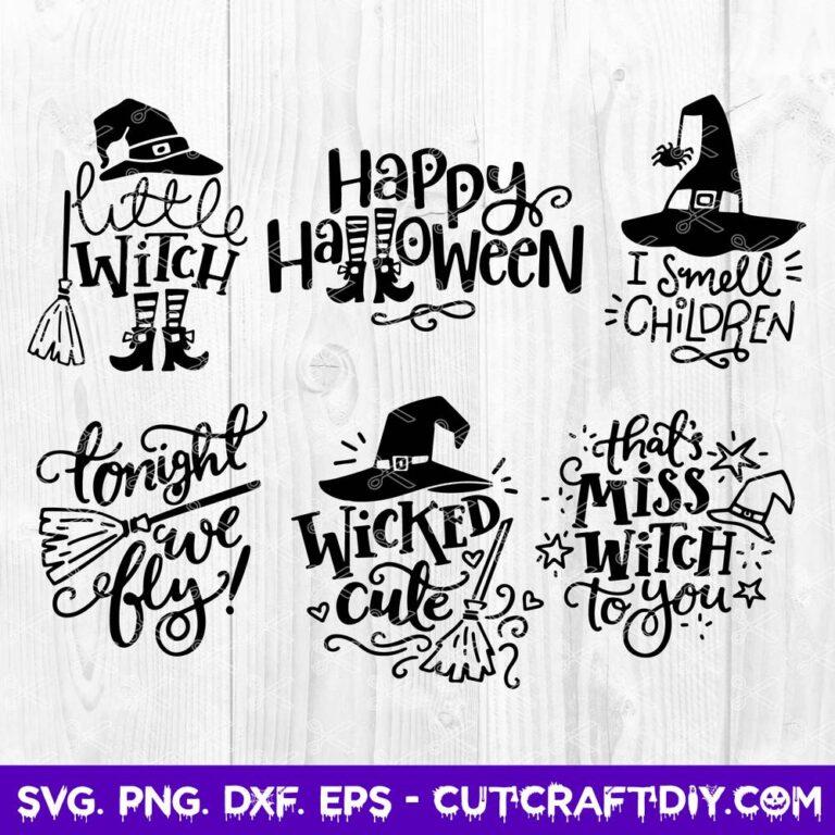 Huge Halloween SVG Bundle