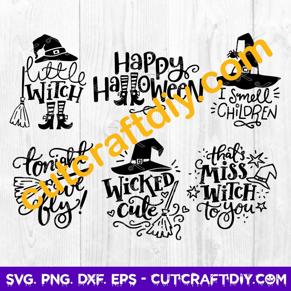 View Happy Halloween Cut File ~ Svg/Eps/Png/Dxf PNG