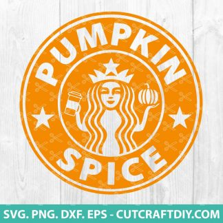 Starbucks Pumpkin Spice SVG Cut File