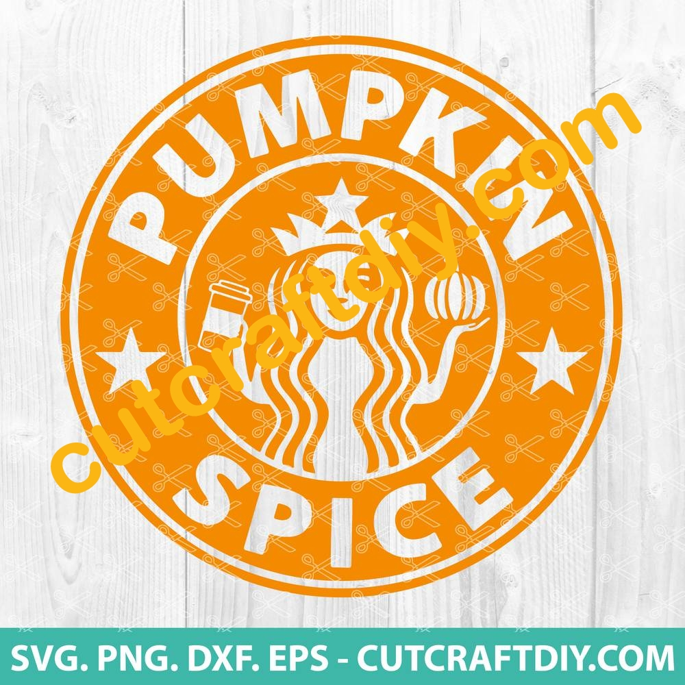 Pumpkin Design Starbucks Coffee Svg Starbucks Cup Svg Coffee Svg