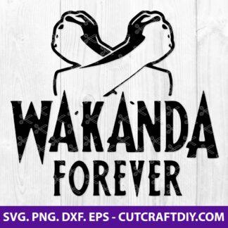 Wakanda Forever SVG