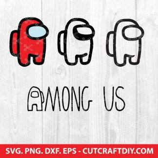 Among Us Bundle SVG