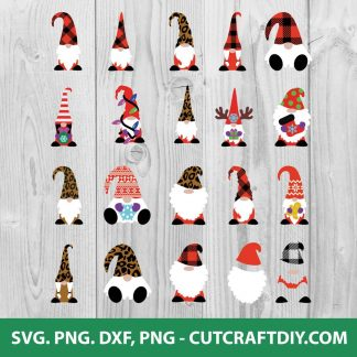 Christmas Gnome SVG File