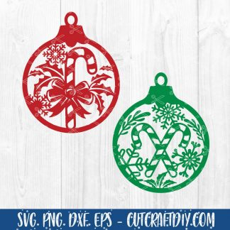 2020 Christmas ornament SVG