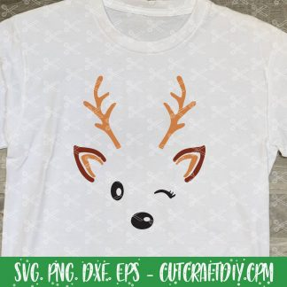 Cute Reindeer SVG